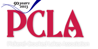 Pickerel-Crooked Lakes Association Logo